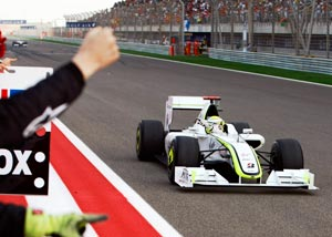 GP Spanyol, Button Win
