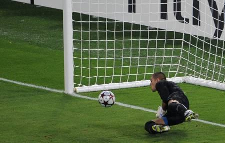 Penyelamatn V.Valdes oleh sepakan C.Ronaldo