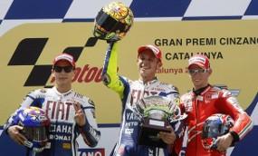 Rossi win iin Catalunya 2009