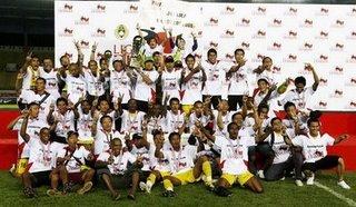Sriwijaya win copa indonesia 2009