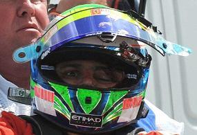 Felippe Massa cedera terhantam per saat kualifikasi gp inggris 09