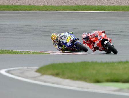 Rossi dan Stoner