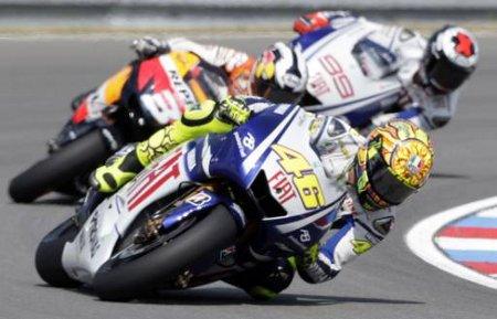 Rossi - Pedrosa - Lorenzo